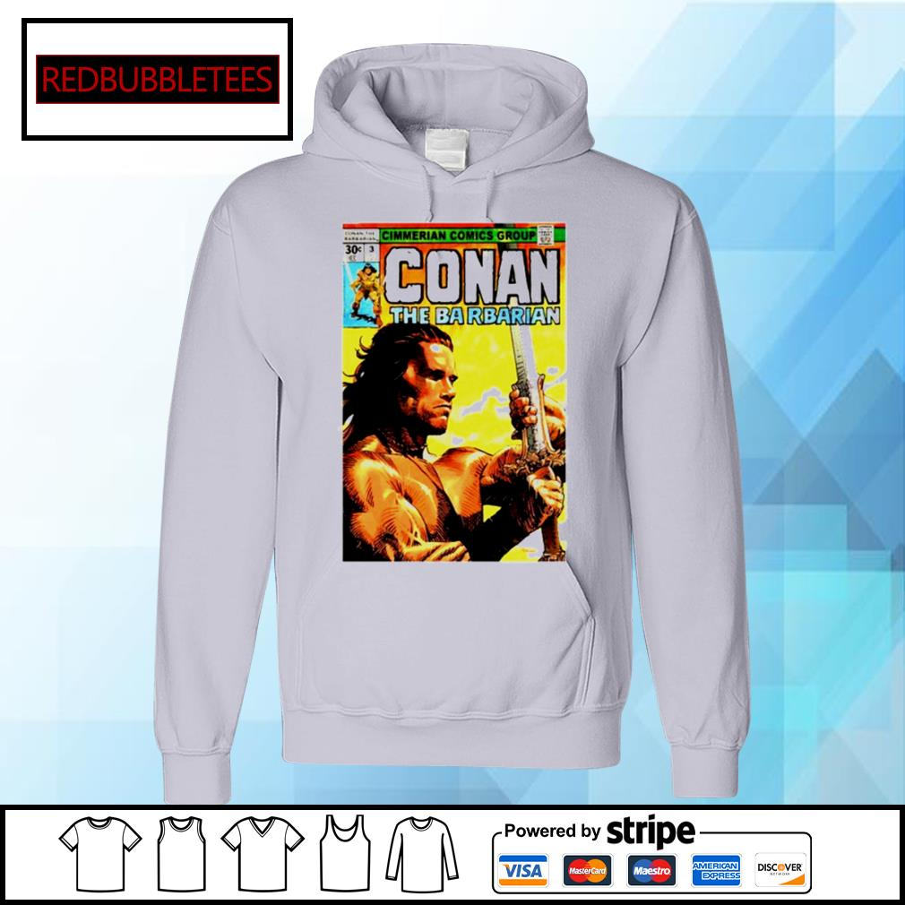 Cimmerian Comics Group Conan The Barbarian Hoodie