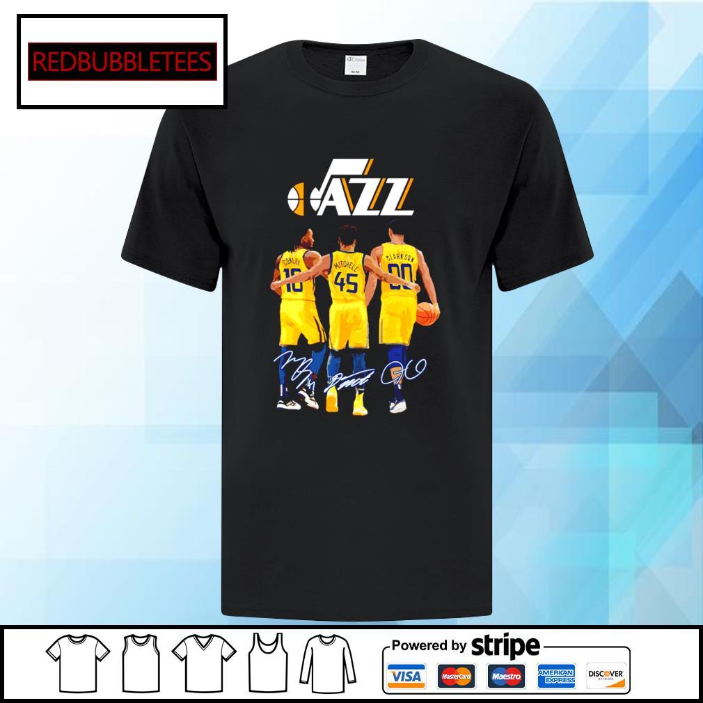 Utah Jazz Conley and Mitchell and Clarkson signature shirt