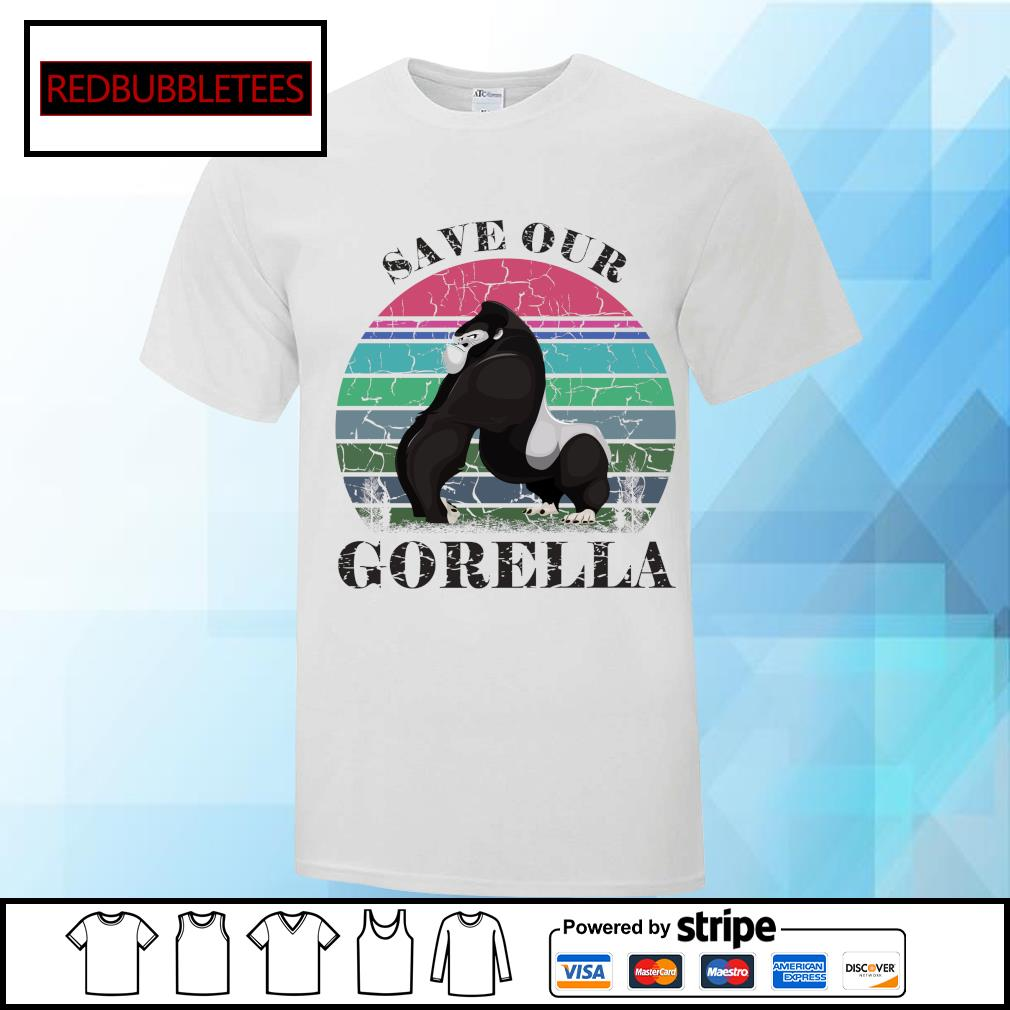 Save our Gorella vintage shirt
