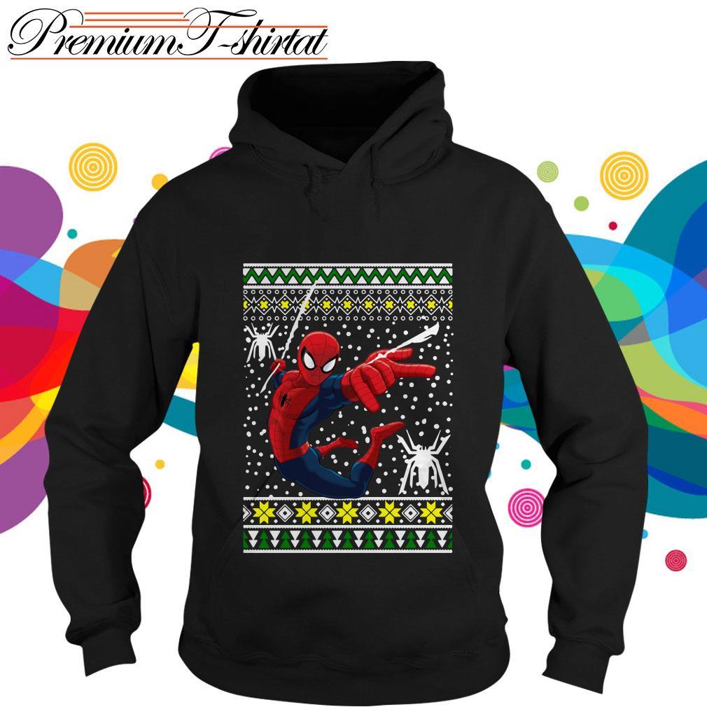 Amazing Spiderman ugly Christmas hoodie