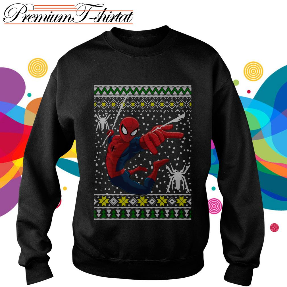 Amazing Spiderman ugly Christmas shirt, sweater