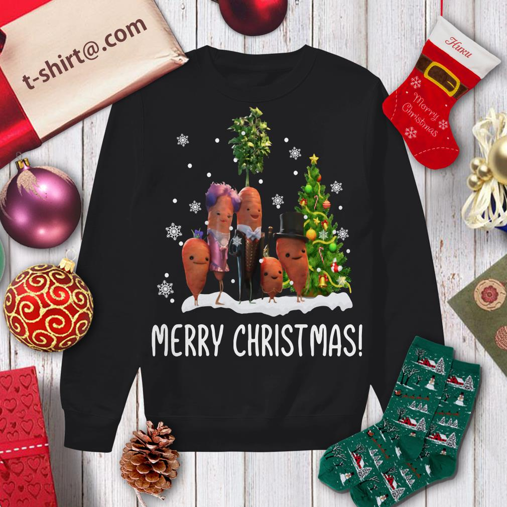 Carrots family Merry Christmas shirt, sweater