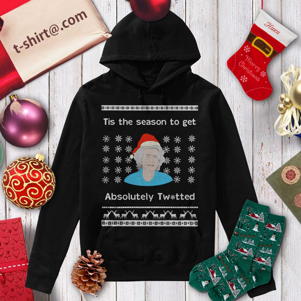 Doris Gavin tis the season to get absolutely twitted ugly Christmas shirt, hoodie