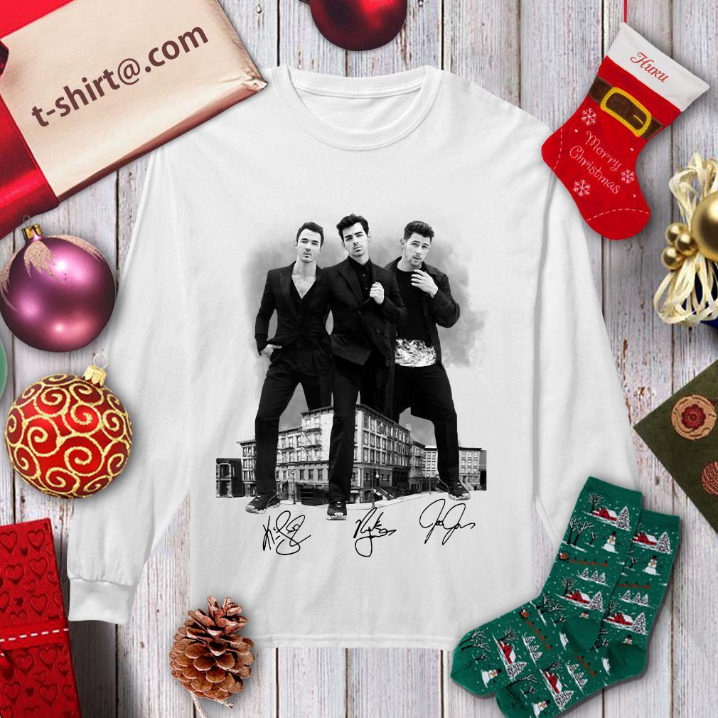 Jonas Brothers signatures longsleeve tee