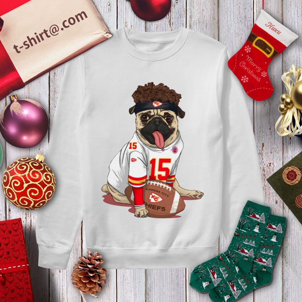Kansas City Pug Mahomes sweater