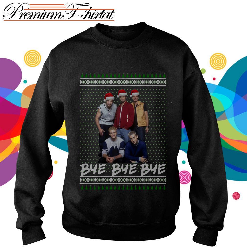 NSYNC Bye bye bye ugly Christmas shirt, sweater