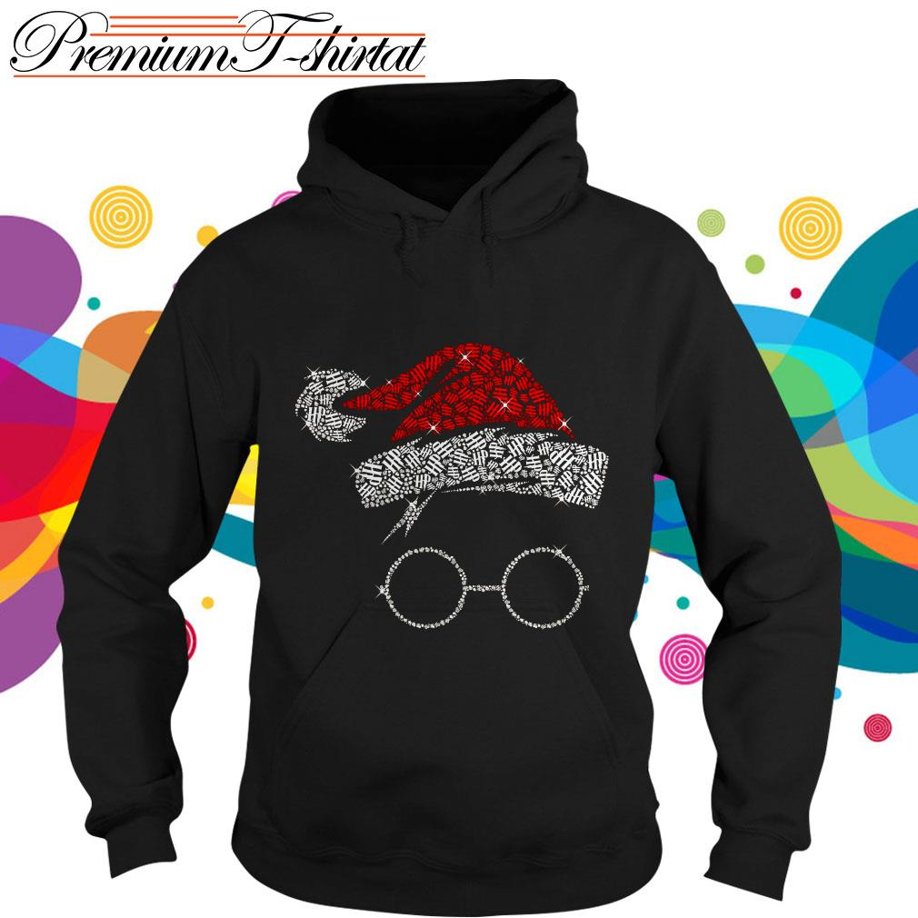 Rhinestone Harry Potter Christmas hoodie