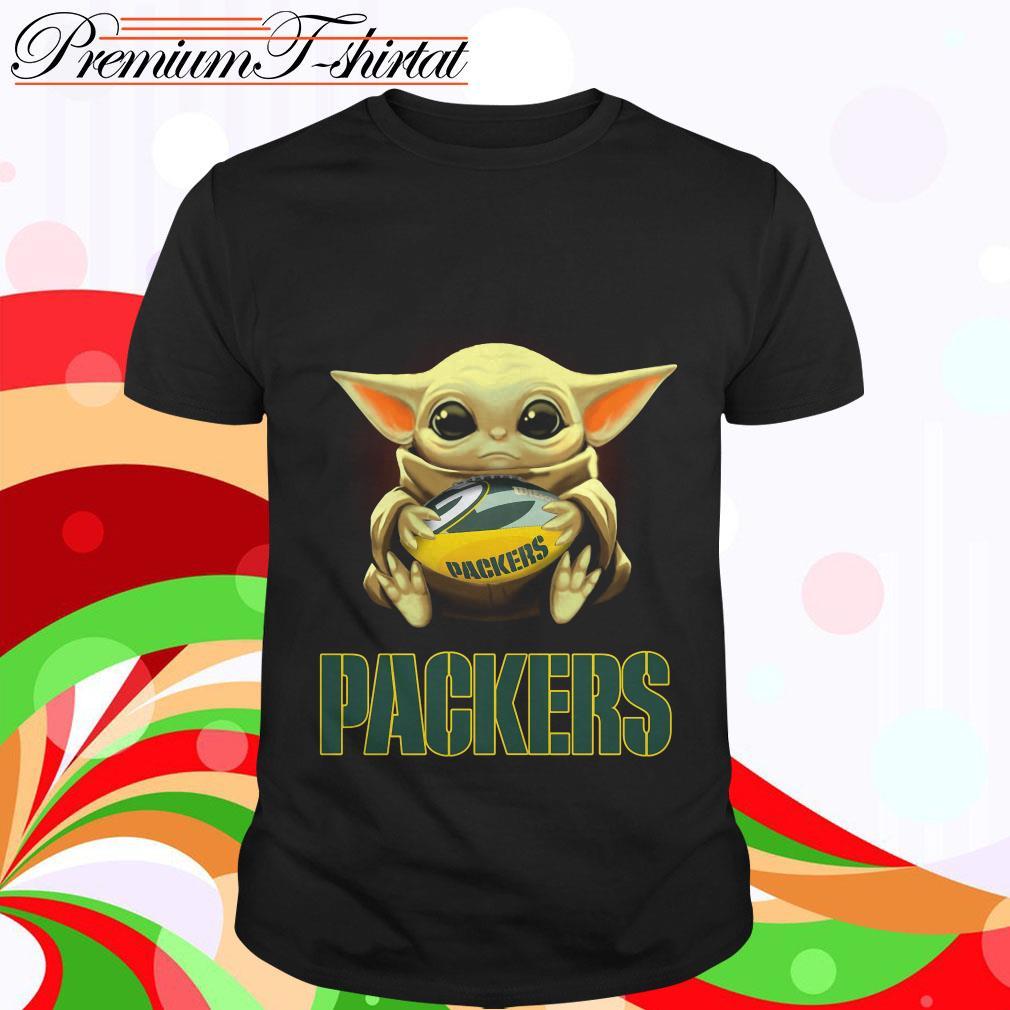 Baby Yoda Hug Green Bay Packers Shirt Hoodie Sweater Tank Top