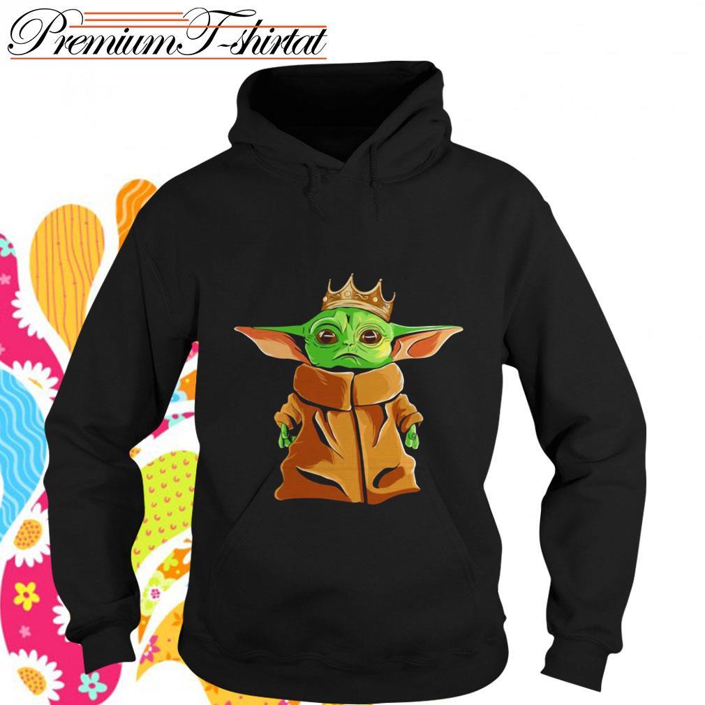Baby Yoda Notorious B.I.G. parody Hoodie