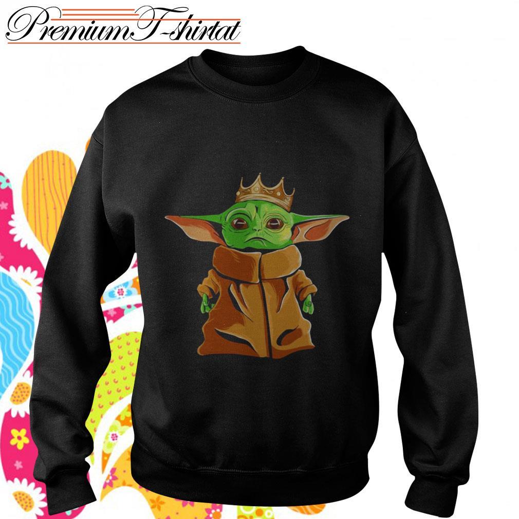 Baby Yoda Notorious B.I.G. parody Sweater