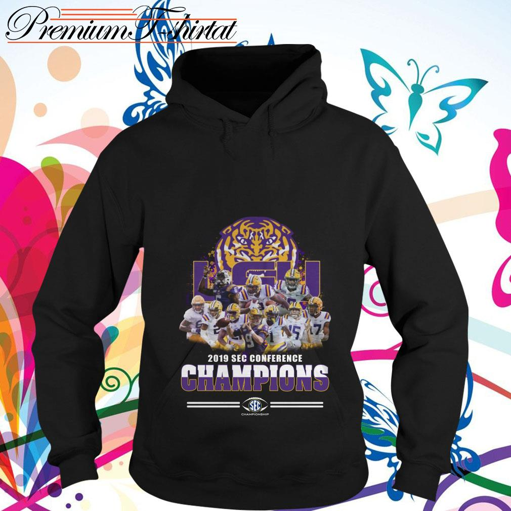 LSU Tigers 2019 Sec Conference Champions hoodie