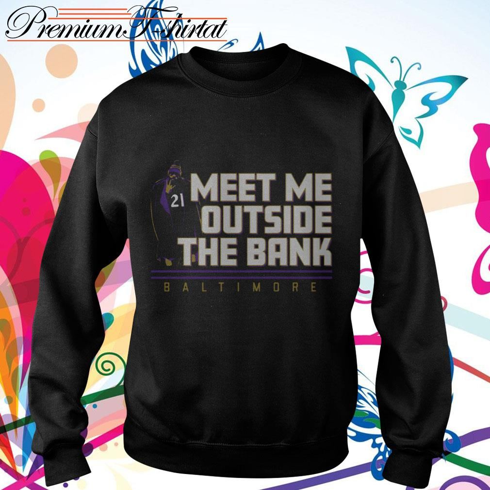 Mark Ingram Meet me outside the Bank Baltimore Sweater