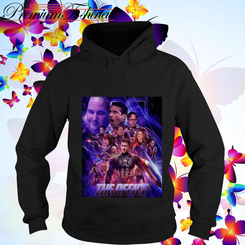 The Office Avengers Endgame hoodie