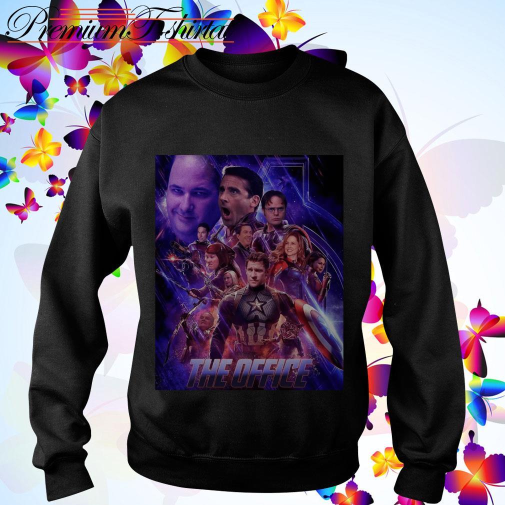 The Office Avengers Endgame sweater