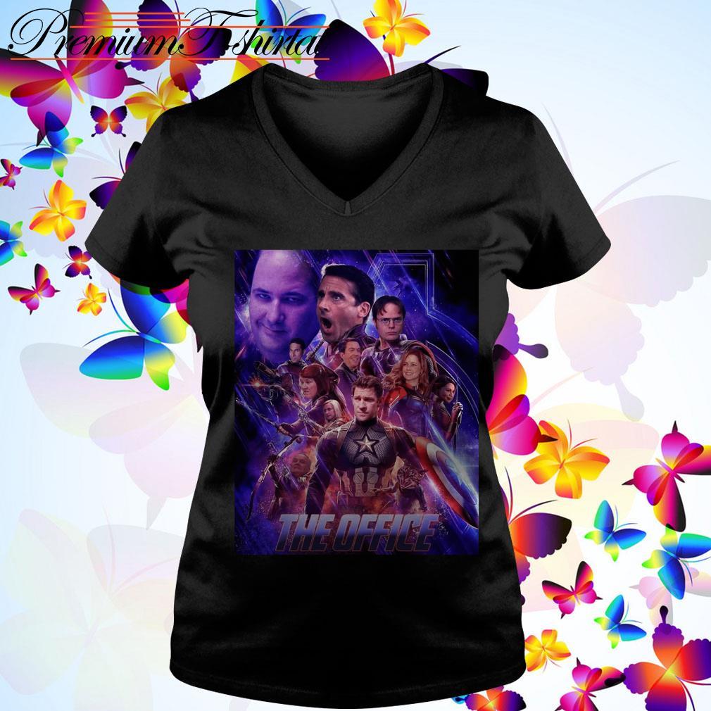 The Office Avengers Endgame v-neck t-shirt