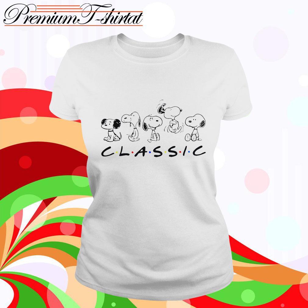 Snoopy classic Ladies tee