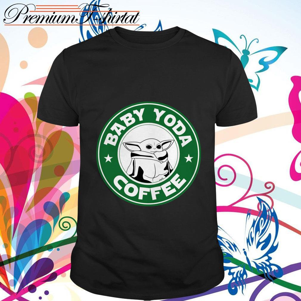 The MandalorianMen/'s T-Shirt Baby Yoda Coffee I Need
