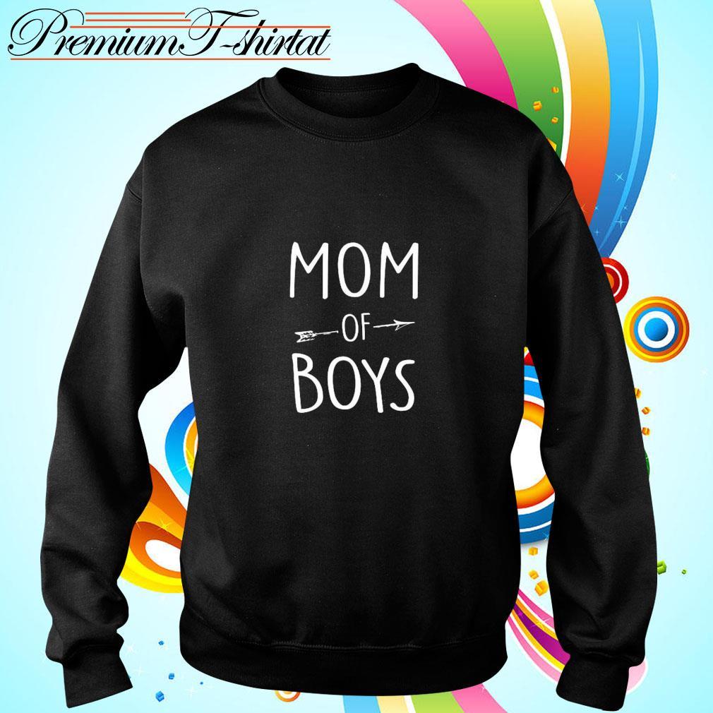 Mom of boys s sweater