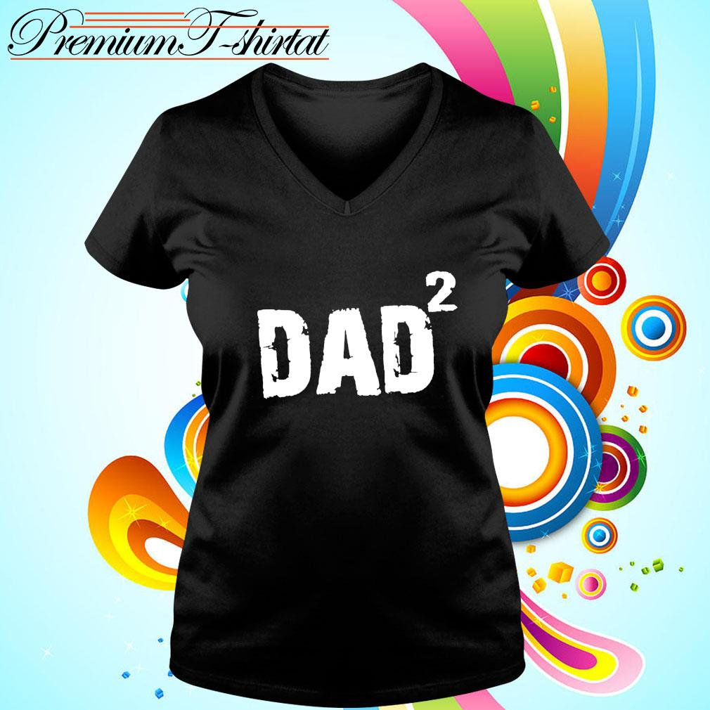 New Dad Gift DAD 2 s v-neck-t-shirt