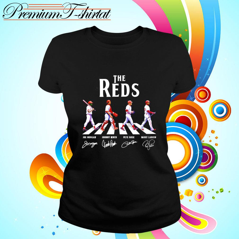 The Reds Abbey Road signatures ladies-tee