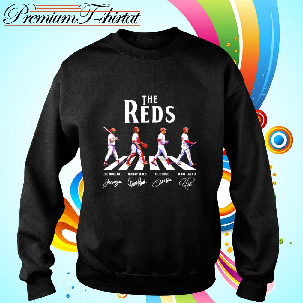 The Reds Abbey Road signatures sweater