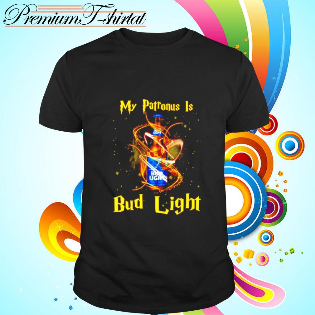 My patronus is Bud Light shirt