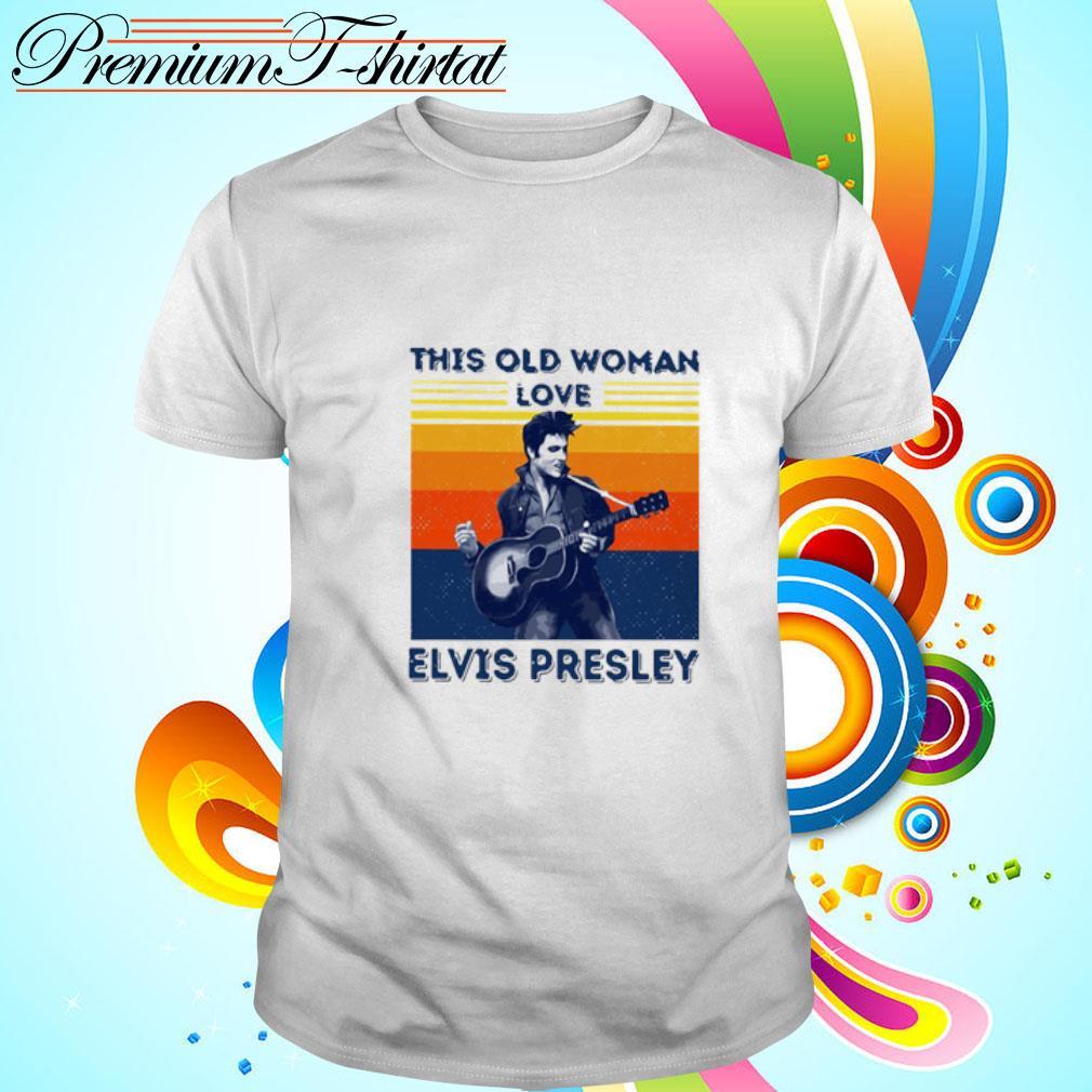 This Old Woman Love Elvis Presley Vintage Shirt