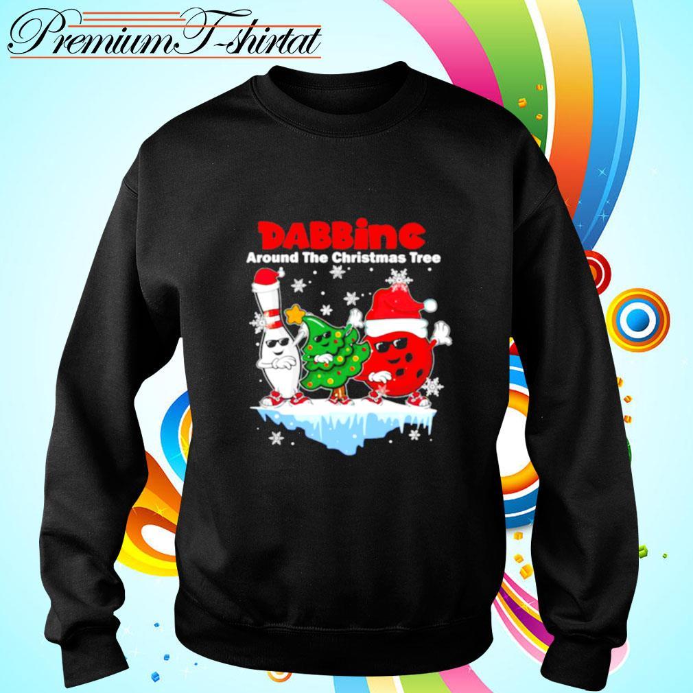 Dabbing Around The Christmas Tree s sweater