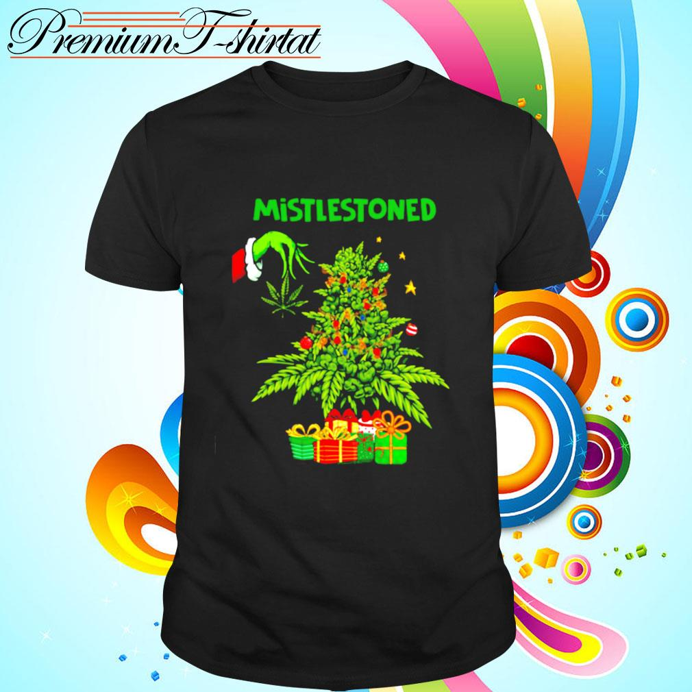 Funny 2020 Christmas Mistlestoned shirt