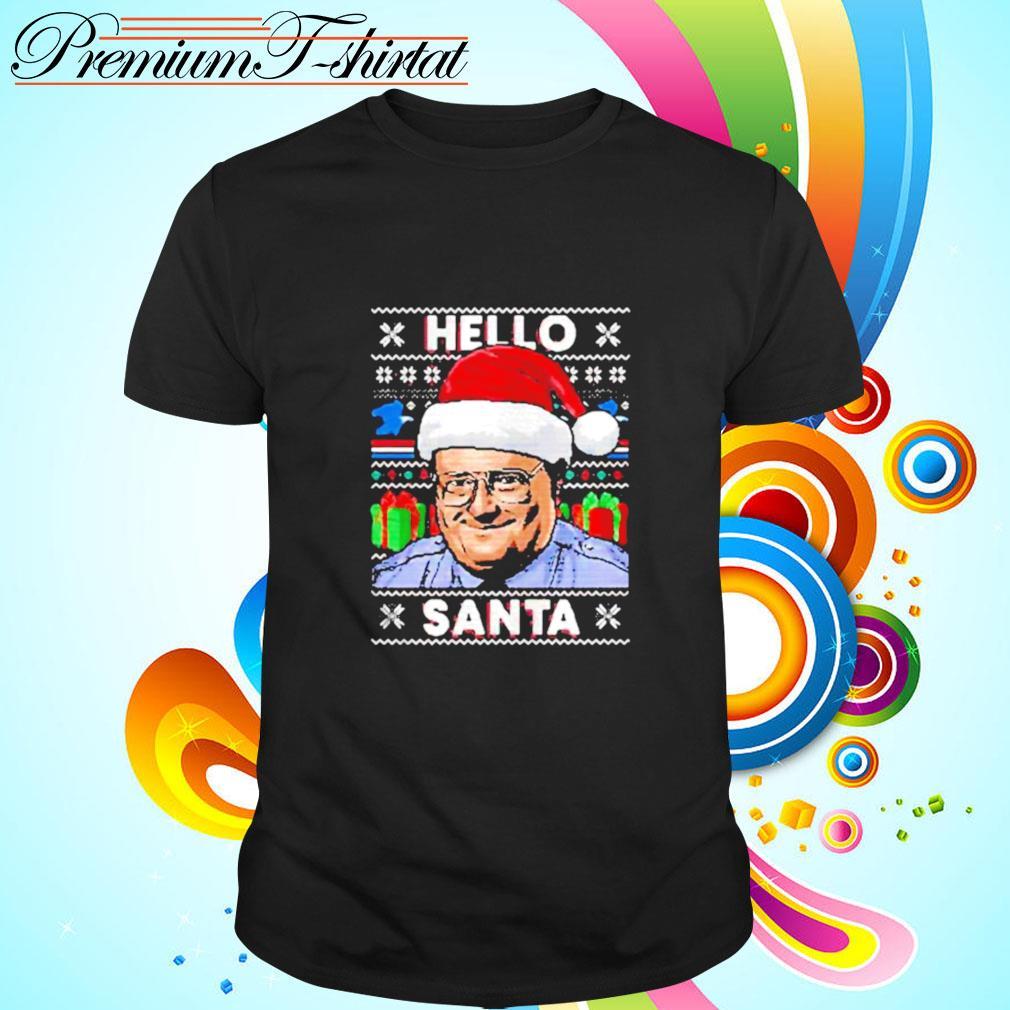 Hello santa ugly christmas shirt
