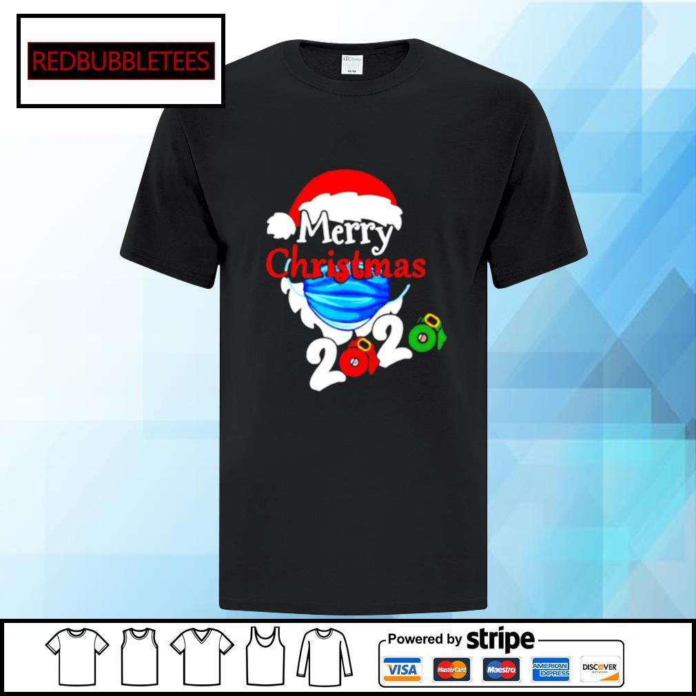 Merry Christmas 2020 Quarantine shirt