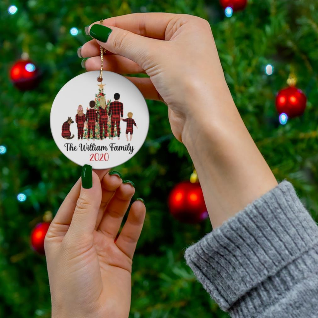Personalized The Willian Family Christmas Ornament