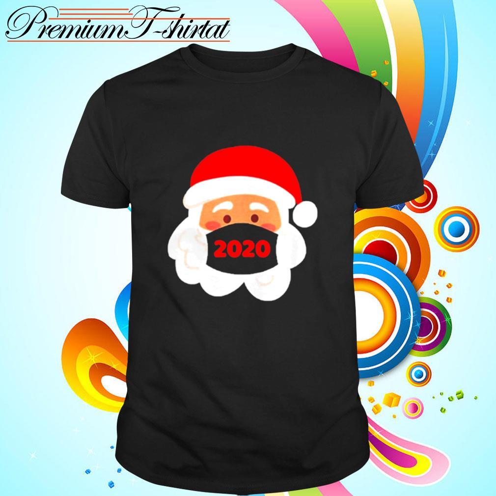Santa Claus Wearing Face Mask 2020 Christmas shirt