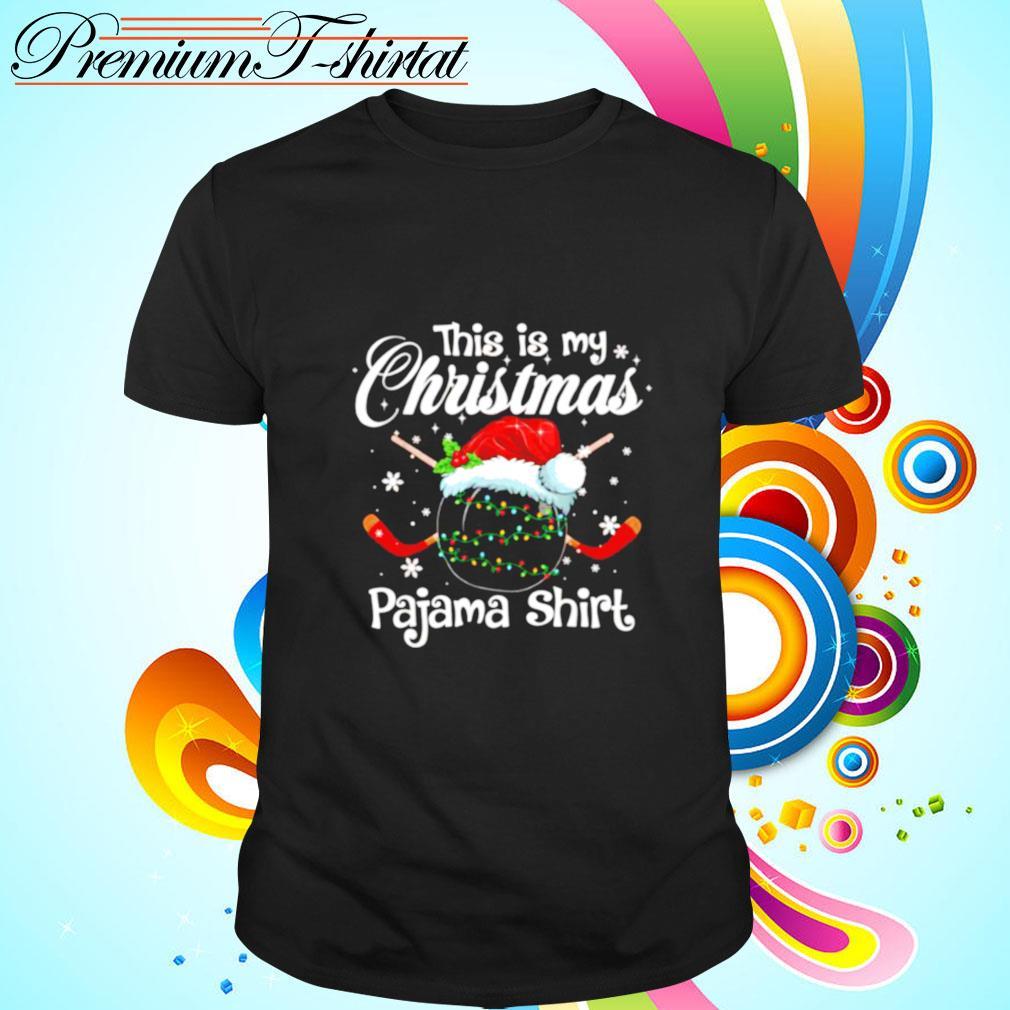 This my christmas pajama shirt