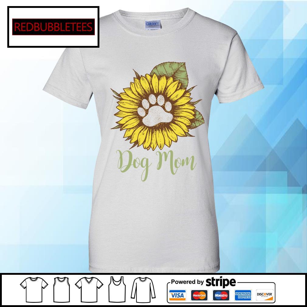 Dachshund Sunflower dog mom s Ladies tee