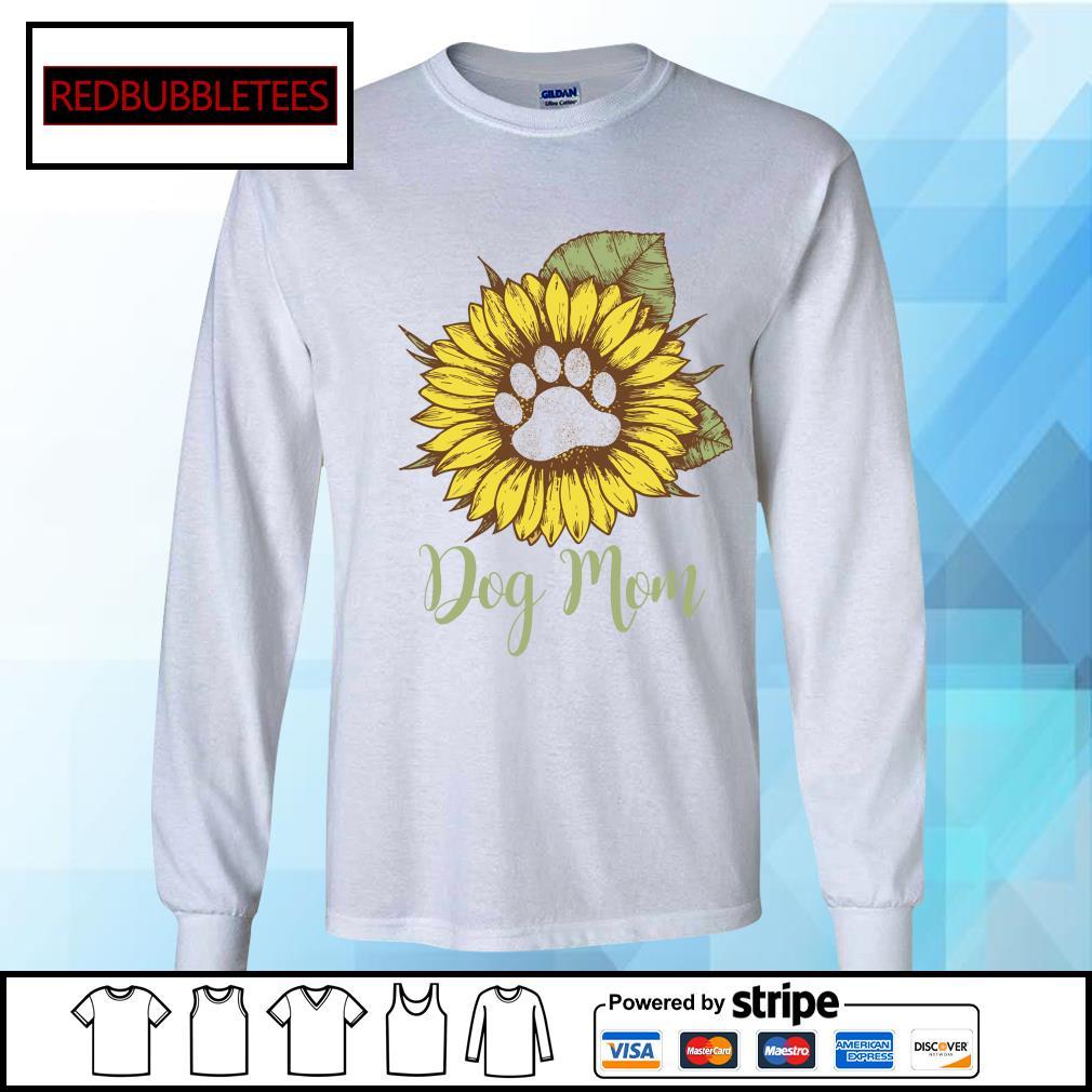 Dachshund Sunflower dog mom s Longsleeve-tee