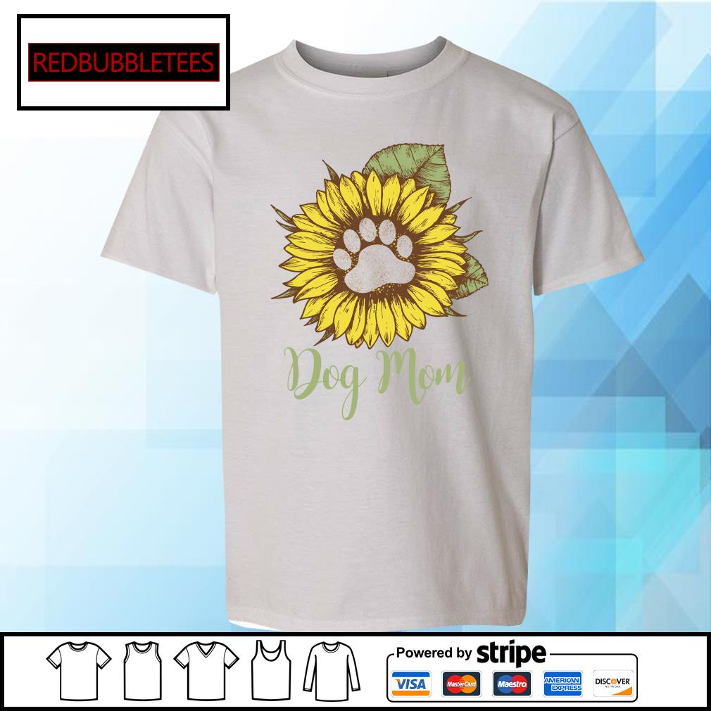 Dachshund Sunflower dog mom s Youth-tee