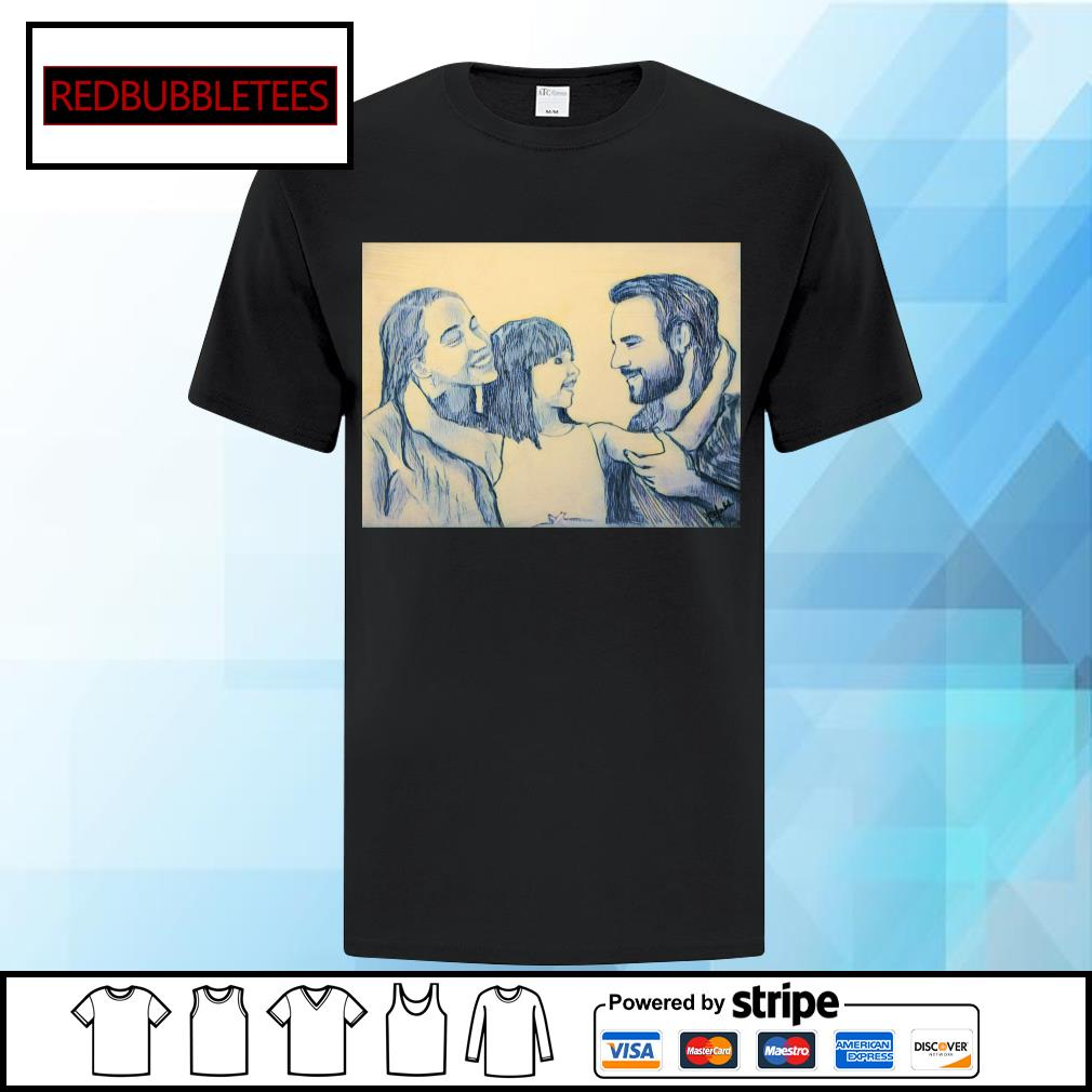 Family mother and father and me shirt