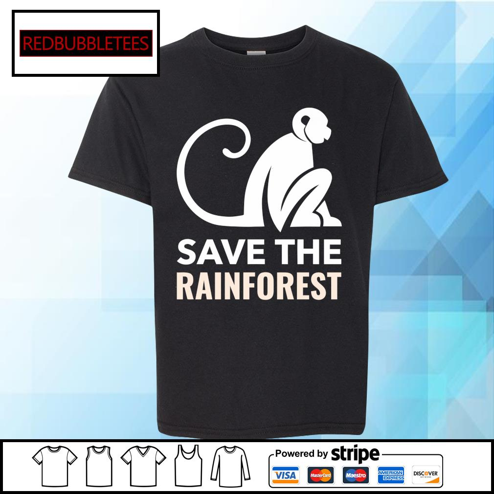 Monkey save the rainforest s Youth-tee