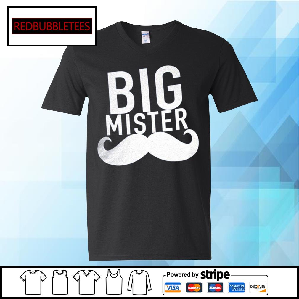 Official Big mister s V-neck T-shirt