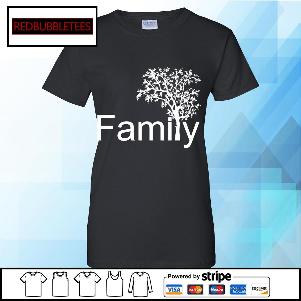 Official Family tree s Ladies tee