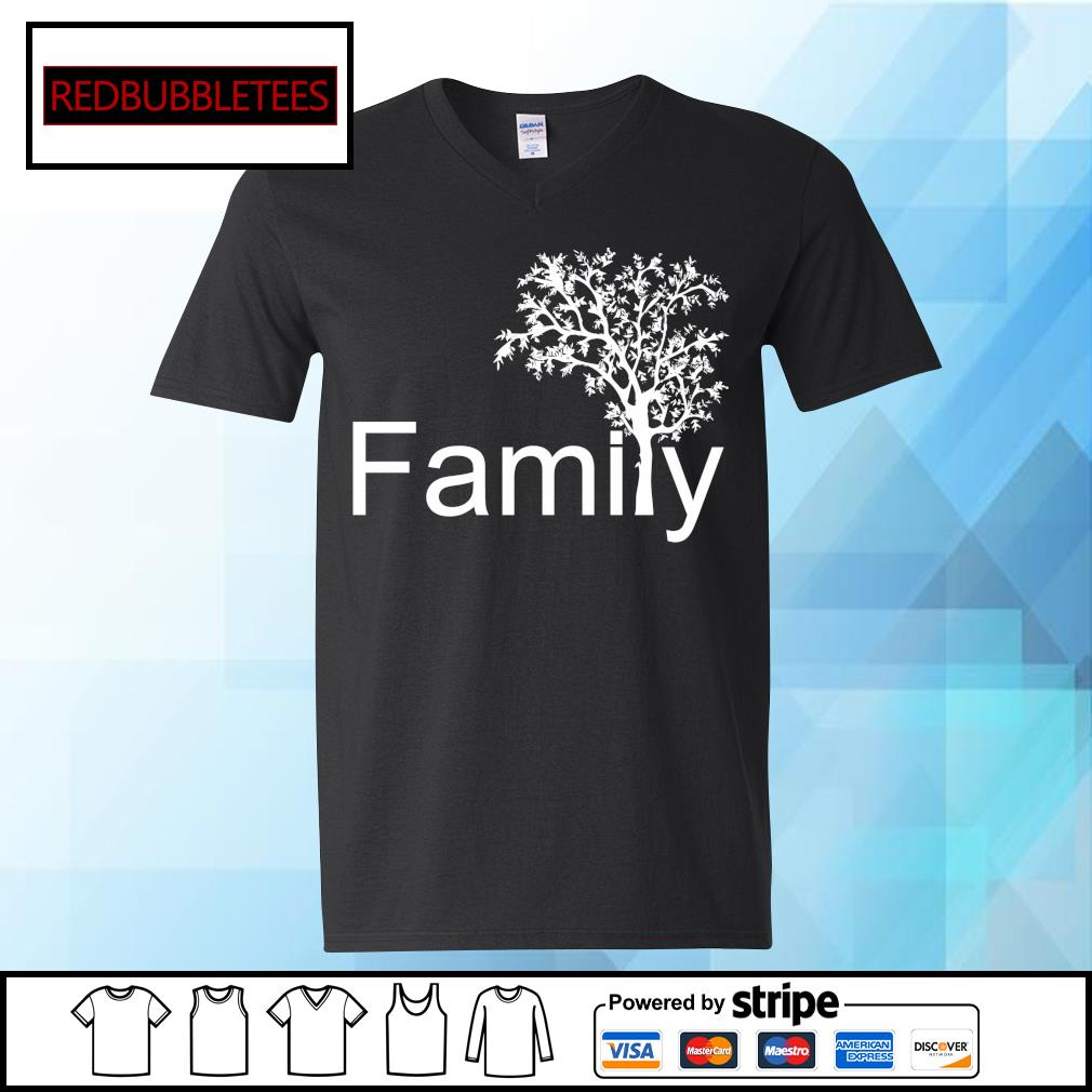 Official Family tree s V-neck T-shirt