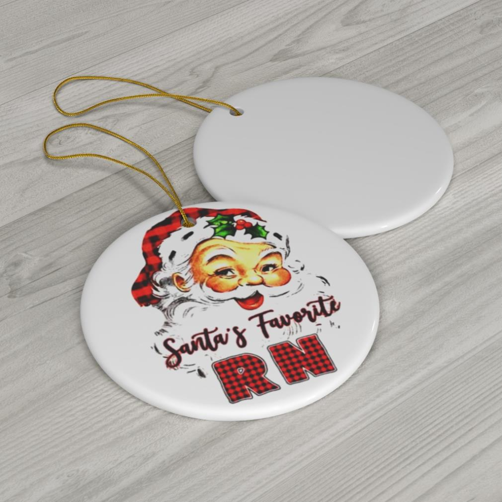 Santa's Claus Favorite RN Christmas 2020 ornament