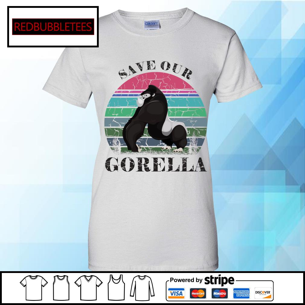 Save our Gorella vintage s Ladies tee