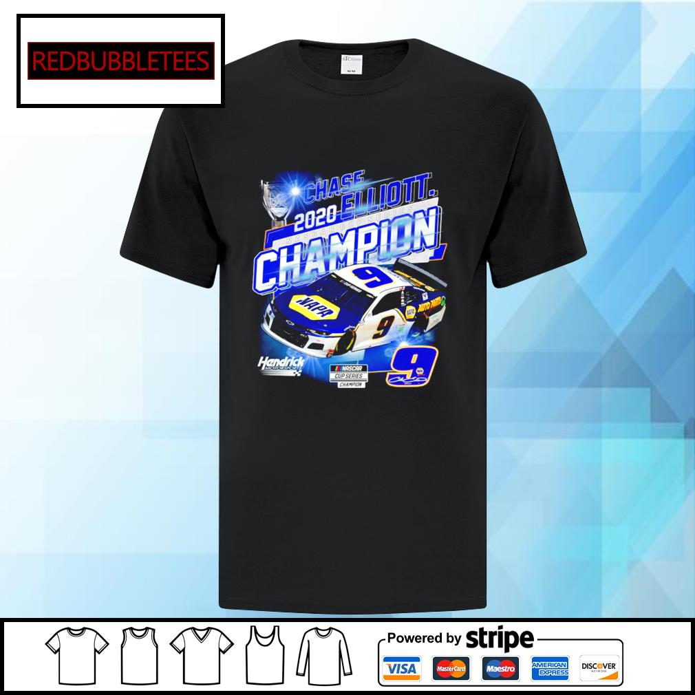 Chase 2020 Elliott Nascar cup series champion hendrick motorsport shirt