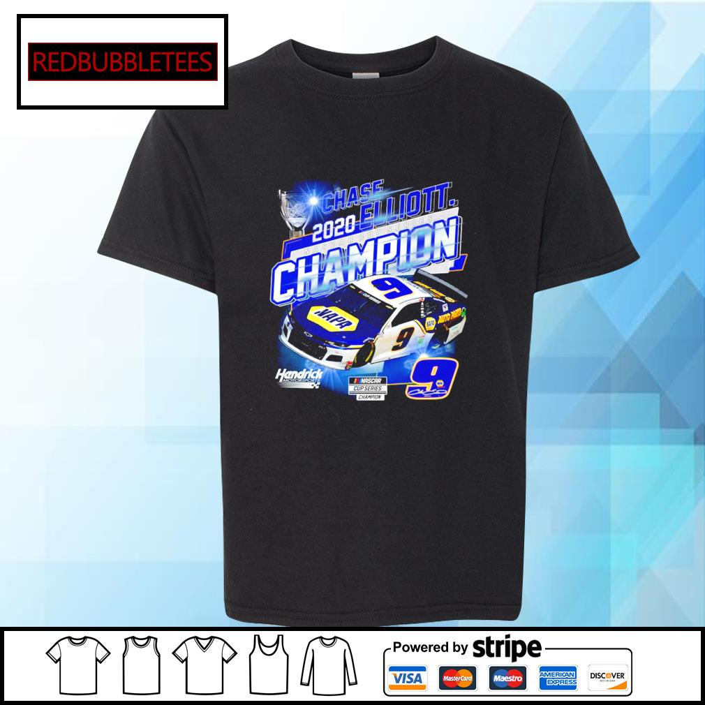 Chase 2020 Elliott Nascar cup series champion hendrick motorsport s Youth-tee