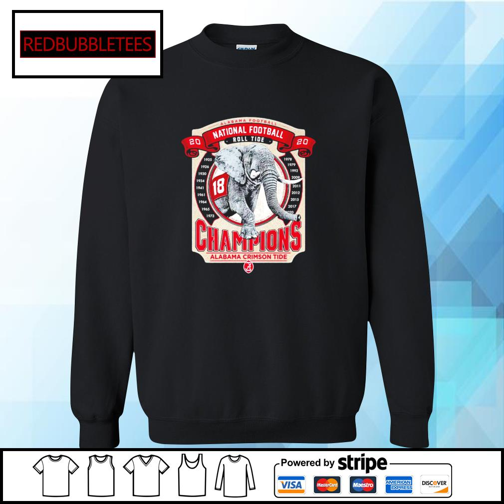 Elephant southeastern Champions Alabama Crimson Tide 2021 s Sweater