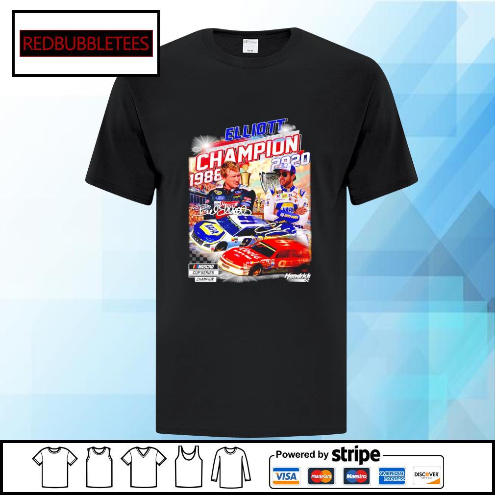 Elliott Nascar cup series champion 1988-2020 signature shirt