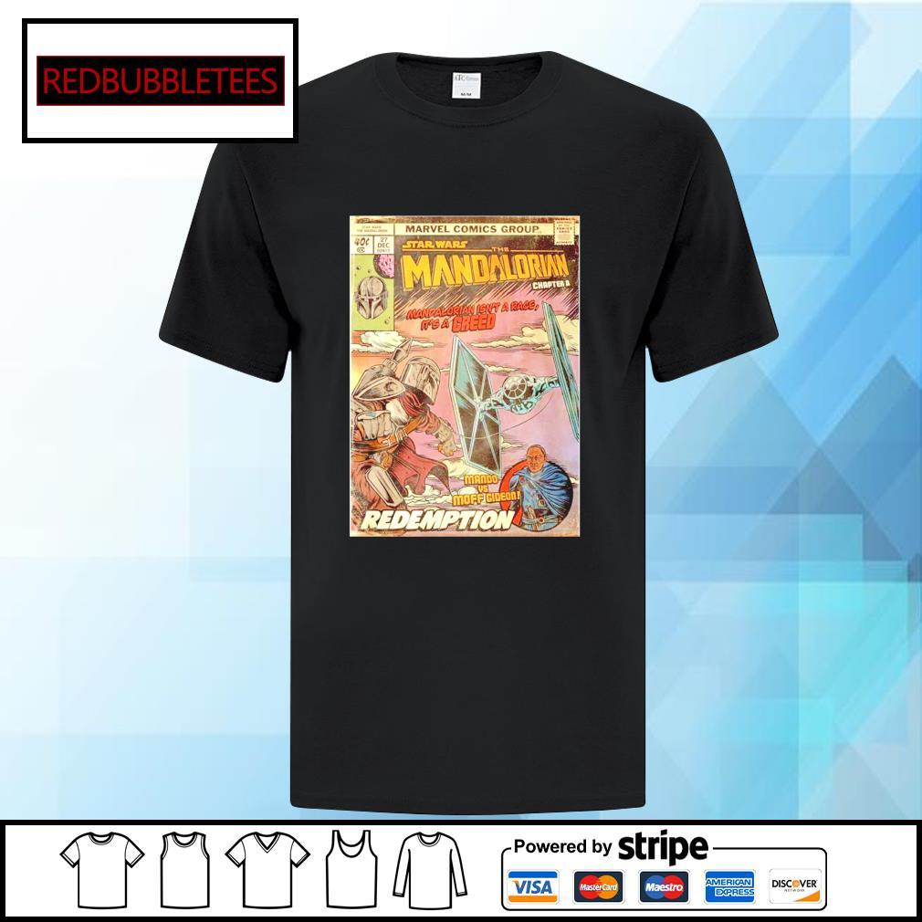 Marvel comics group star wars the Mandalorian chapter 8 shirt