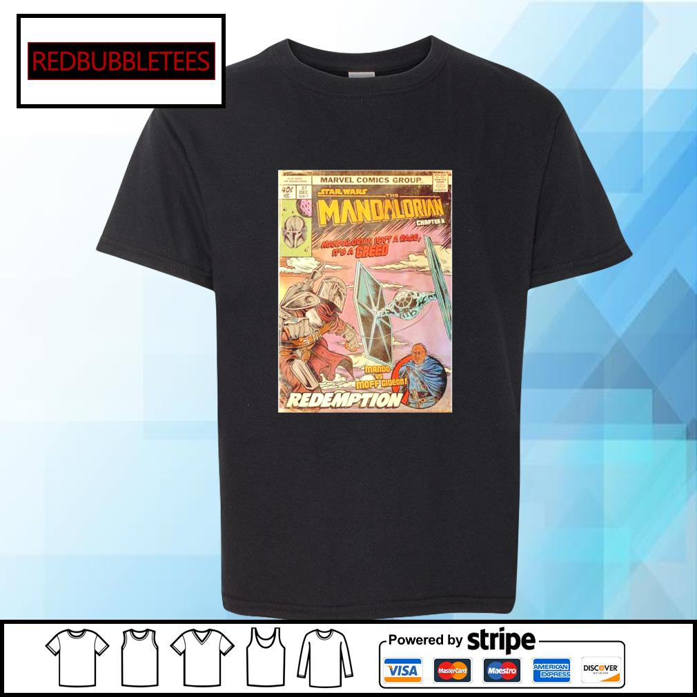 Marvel comics group star wars the Mandalorian chapter 8 s Youth-tee